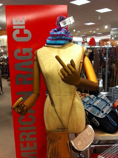 A entrar no espírito natalício no centro comercial
