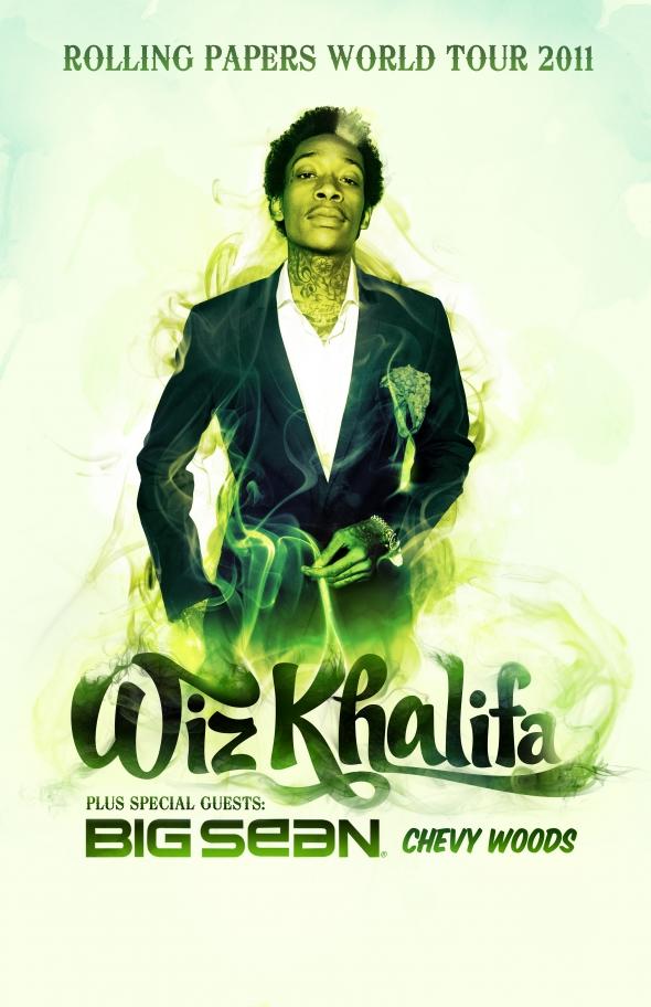 Wiz khalifa Tour Dates 2011 Announced