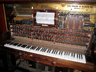 Turn of the Century (19th-20th) player piano